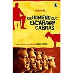 Livro - Homens que Encaravam Cabras, os