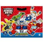 Livro Infantil - Transformers - Rescue Bots - Colorindo uma Aventura - Ciranda Cultural