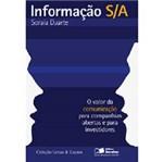 Livro - Informação S/A - o Valor da Comunicação para Companhias Abertas e para Investidores