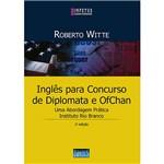 Livro - Inglês para Concursos de Diplomata e OfChan