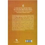 Livro - Iniciativa Instrutória do Juiz no Processo Penal e Sua Conformidade, a