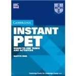 Livro - Instant PET: Ready-to-Use Tasks And Activities
