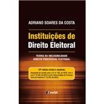 Livro - Instituições de Direito Eleitoral