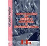 Livro - Instituiçoes de Direito Nacional e Internacional