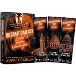 Livro - International Guy. Londres, Berlim, Washington + Marcadores