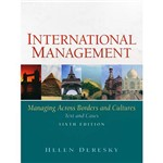 Livro - International Management: Managing Across Borders And Cultures - Text And Cases