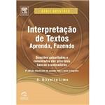 Livro - Interpretação de Textos - Aprenda, Fazendo - Série Questões