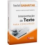 Livro - Interpretação de Textos para Concursos - Coleção Ficou Fácil Gabaritar