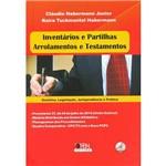 Livro - Inventários e Partilhas, Arrolamentos e Testamentos - Coleção Doutrina, Legislação, Jurisprudência e Prática