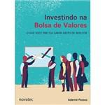 Livro - Investindo na Bolsa de Valores