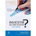 Livro - Investir ou não Investir?