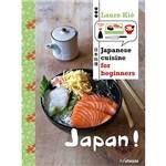 Livro - Japanese Cuisine For Beginners
