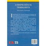 Livro - Jurisprudência Trabalhista - Selecionada e Comentada
