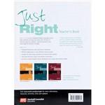 Livro - Just Right - Teacher´s Book B - Pre-Intermediate