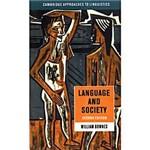 Livro : Language And Society