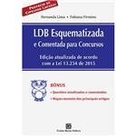 Livro - LDB Esquematizada e Comentada para Concursos