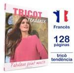 Livro Le Tricot C'est Tendance - Fabuleux Point Mousse Nº 03