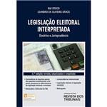 Livro - Legislação Eleitoral Interpretada