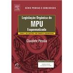 Livro - Legislação Orgânica do MPU Esquematizada
