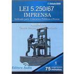 Livro - Lei 5250/67: Imprensa - Áudio Livro