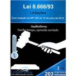 Livro - Lei 8.666/93 - Licitações - com Redação da Mp 495