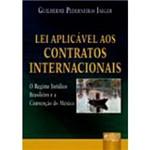 Livro - Lei Aplicável Aos Contratos Internacionais