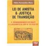 Livro - Lei de Anistia e Justiça de Transição