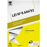 Livro - Lei Nº 8.666/1993: Licitações e Contratos - Série Resumos Ilustrados