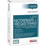 Livro - Leis Notariais e Registrais - Leis Especiais Comentadas para Concursos