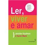 Livro - Ler, Viver e Amar