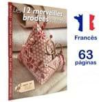 Livro Les 12 Merveilles Brodées de Marie