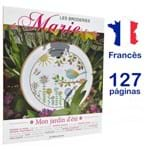 Livro Les Broderies de Marie & Cie Nº 3 - Mon Jardin D´Eté