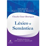 Livro - Léxico e Semântica