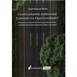 Livro - Licenciamento Ambiental: Controle ou Oportunidade?