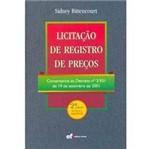 Livro - Licitação de Registro de Preços