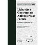Livro - Licitações e Contratos da Administração Pública