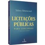 Livro - Licitações Públicas para Concursos