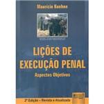 Livro - Lições de Execução Penal: Aspectos Objetivos