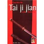 Livro - Liçoes de Tai Ji Jian com Espada