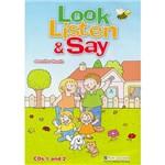 Livro - Look, Listen And Say: Audio Cd