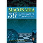 Livro - Maçonaria 50 Instruções de Companheiro