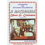 Livro - Maçonaria, a - Usos & Costumes - Vol. 2