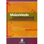 Livro - Maioridade Constitucional - Estudo em Comemoração Aos 18 Anos da Constituição Federal