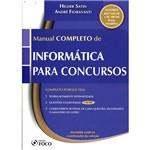 Livro - Manual Completo de Informática para Concursos