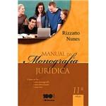 Livro - Manual da Monografia Jurídica