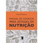 Livro - Manual de Consulta para Estágio em Nutrição
