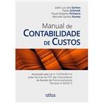 Livro - Manual de Contabilidade de Custos