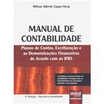 Livro - Manual de Contabilidade: Planos de Contas, Escrituração e as Demonstrações Financeiras de Acordo com as IFRS