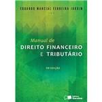 Livro - Manual de Direito Financeiro e Tributário