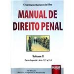 Livro - Manual de Direito Penal: Parte Especial Arts. 121 a 234 - Vol. 2